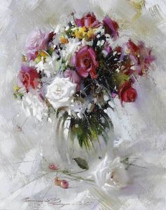 Ramil Gappasov and his floral impressionism