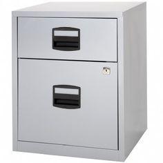 Bisley  Drawer Locking A Filing Cabinet Pfamsf Grey