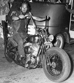 Sony Barger of the Hells Angels Motorcycle Club