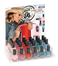 Betty Nails: Anny - Route 66 Textured Nail Polish NEW Collectio...