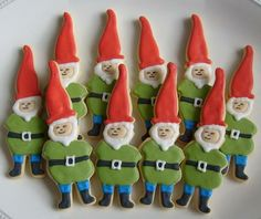 These little elf cookies are almost too cute to eat. Almost.