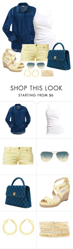 """""""Untitled #1030"""" by gallant81 ❤ liked on Polyvore featuring Aéropostale, Soaked in Luxury, TWINTIP, Oliver Peoples, Chanel, L.K.Bennett, IBB and Charlotte Russe"""