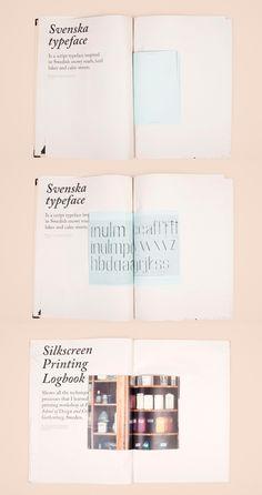 Printed Graphic Design Portfolio Example - Marta Vargas