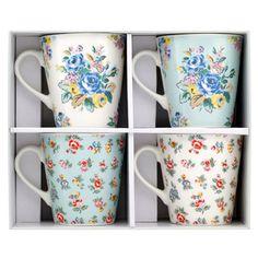 Highgate Rose Set of 4 Mini Stanley Mugs