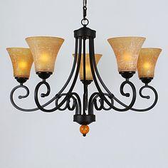60W*5 Decent Elegant 5 Light Up Lighting Chandelier – AUD $ 343.19