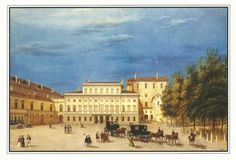 #Parma Italy's Riserva Palace where the Glauco Lombardi Museum is located. #travel #design #literature #Empire #Italy