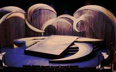 The Tempest set design