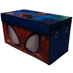 New Marvl Spiderman Collapsible Storage Toy Trunk Kids Organizer Container Box Toy Storage Boxes, Storage Trunk, Kids Storage, Toy Boxes, Trunk Organization, Container Organization, Toy Trunk, Marvel Comics, Organiser Box
