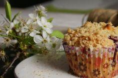 Muffiny wiśniowe z kruszonką