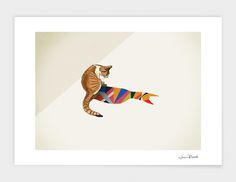 """""""Walking Shadow 8"""", Numbered Edition Fine Art Print by Jason Ratliff - From $39.00 - Curioos"""