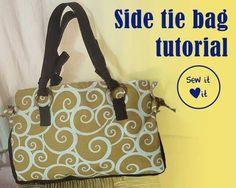 Handbag sewing patterns #purse #tutorial