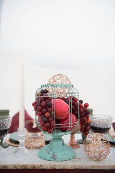 Boho   Bride   Desert   Dunes   Wedding   Marsala   Red   Moroccan   Copper   Turquoise