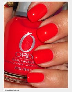 Orly - Precisely Poppy
