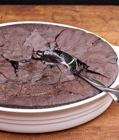 Chocolate Brownie Pudding
