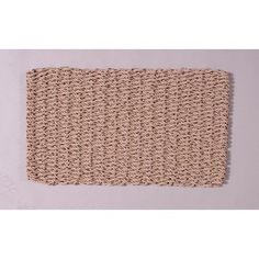 """Outdoor Doormat Size: 28"""" x 36"""", Color: Mocha Chip by Cape Cod Doormats. $84.74. 22323 Size: 28"""" x 36"""", Color: Mocha Chip Features: -Technique: Woven.-Material: Polypropylene.-Origin: United States. Construction: -Construction: Handmade. Color/Finish: -Color: Granite. Dimensions: -Pile height: 1''. Warranty: -Warranty length: 5 years."""