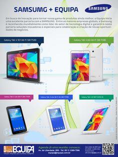 Tablets SAMSUNG - Tecnologia e diversão para seu dia a dia