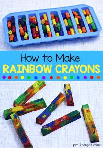How to Melt Crayons in the Microwave
