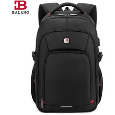 For Only $ 53.99 NEW 2017 WATERPROOF BACKPACK  Interior: Interior Compartment,Interior Key Chain Holder,Computer Interlayer,Cell Phone Pocket,Interior Zipper Pocket,Interior Slot Pocket Lining Material: Polyester Exterior: Silt Pocket Closure Type: Zipper Carrying System: Arcuate Shoulder Strap Rain Cover: No Capacity: 20-35 Litre Pattern Type: Solid Backpacks Type: Softback Main Material: Oxford Dimension: 30cm*16cm*47cm Features: External Charging USB Function…