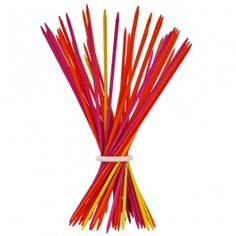 Maxi Pick-Up Sticks. Giant pick-up sticks that can be displayed as art! Made in Italy. From Bella Luna Toys. $39.95