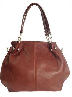 Schöne weiche braune italienischem Leder Hobo Bag, Schultertasche, Handtasche oder mit abnehmbarer Trageriemen Kimandjo http://www.amazon.de/dp/B00NZX8KV0/ref=cm_sw_r_pi_dp_xiouub1BGGE03