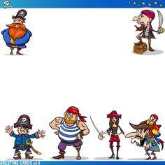 הזמנה ליום הולדת פיראטים Pirates, Greeting Cards, Invitations, Save The Date Invitations, Shower Invitation, Invitation