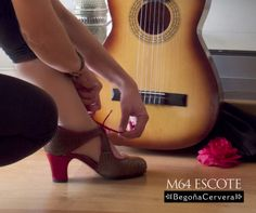 NOVEDAD M64 ESCOTE www.zapatosbaileflamenco.com
