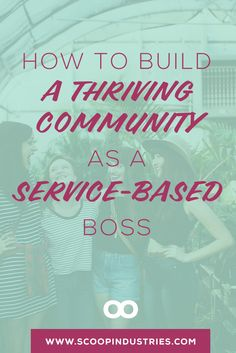 Get connected by leveraging these five different types of communities perfect for services business owners. From Facebook Groups to Masterminds, we've got you covered with ideas on how to make the most of them. Pin and Read to help you grow your community and your biz.
