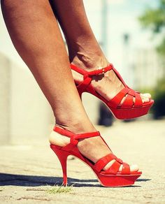 YSL Tribute Sandals via ClosetConfections.com