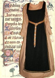 Medieval Tabards | similar to SCA Garb Medieval Renaissance Gown Costume Midnight Tabard ...