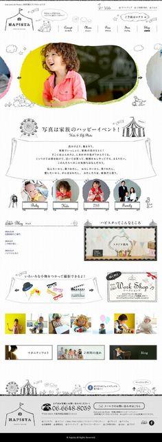 The website 'http://happy-photo-studio.jp/' courtesy of @Pinstamatic (http://pinstamatic.com):