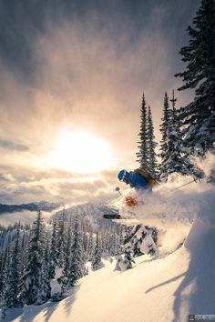 Pulverulence. Valhalla Mountains, British Columbia by Geoff Holman.