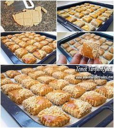 Tuzlu Atıştırmalık Kurabiye Tarifi Chinese Deserts, Turkish Recipes, Ethnic Recipes, Bread And Pastries, Homemade Desserts, Bread Baking, Great Recipes, Cookie Recipes, Delish