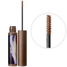 Most-loved brow products: Tarte Colored Clay Tinted Brow Gel—a tinted brow gel with colored clay that enhances, defines, and shapes brows. #Sephora #eyebrows