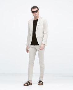 ZARA - MAN - Cotton ramie blazer