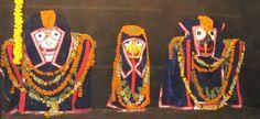 Odhana Sasthi – deities wear winter garments
