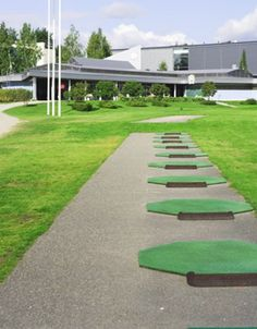 Salo Golf - my home club Stepping Stones, Sidewalk, Golf, Club, Outdoor Decor, Living Room, Walkways, Pavement, Curb Appeal