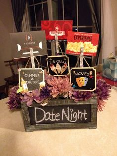 Date Night Basket fo