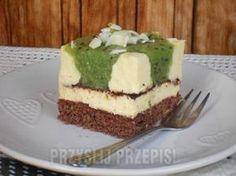 Ciasto z musem kiwi - przyslijprzepis.pl