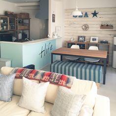 chikoさんの、部屋全体,WTW,西海岸,ペンドルトンのタオルブランケット,カリフォルニアスタイルに憧れて,西海岸風にしたい,のお部屋写真