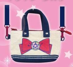Sailor Moon Mini Tote Bag -- Crystal Star Brooch http://anime.jlist.com/click/4518?url=http://www.jlist.com/product/PRE3589 #sailormoon