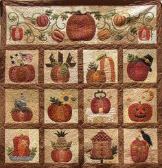 Would really like to do this quilt.  The Great Pumpkin