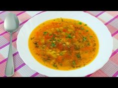 Ciorba de legume | JamilaCuisine - YouTube Cooking Time, Cooking Recipes, Romanian Food, Romanian Recipes, Tasty, Yummy Food, Vegan Foods, Soul Food, Food To Make