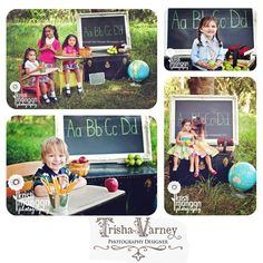 School mini session #apple4theteacher School mini session, Trisha Varney, photography, set designer, styled shoot, props, rustic fields, KristiManganPhotography, school time