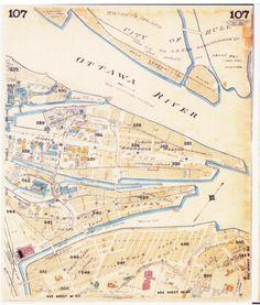 Ottawa, Ontario, Canada, Urban, Map, How To Plan, History, Cards, Historia
