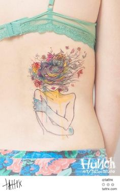 10 Dicas de tatuagens aquareladas para você se inspirar...
