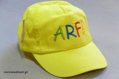 Dad hat,Arf for pet lovers,Caps, baseball cap,embroidery,machine embroidered, logo on baseball  hat by NeedleArtGR on Etsy