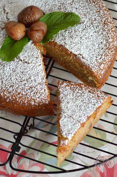 Bizcocho de Castañas en Almíbar | CON HARINA EN MIS ZAPATOS Queen Cakes, Sweet And Salty, Almond, Holiday, Christmas, Recipies, Deserts, Bread, Dishes