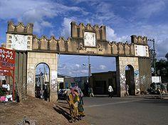 Harar, Ethiopia.  http://www.worldheritagesite.org/sites/harrar.html
