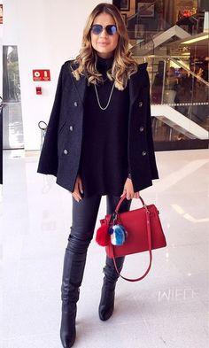 Look de Inverno no Instagram: Thassia Naves