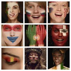 Mostre para Shakira, o amor pela sua seleção na Copa do Mundo da FIFA 2014